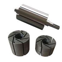 pumps parts axis vacuum pump rotor for becker