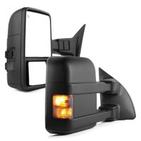 For 99-07 Ford F250-F550 Super Duty Towing Mirrors Pair Power Heated Turn Signal thumbnail image
