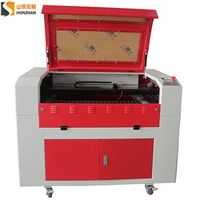 honzhan HZ-6090 Laser Engraving and Cutting Machine 600900mm for Acrylic Plastic Cutting thumbnail image