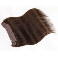 18 Inches Straight 100g Auburn Halo Clip Weft