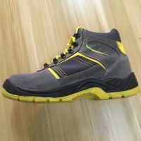 double PU sole steel toe safety shoes