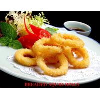 Breaded squid rings