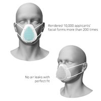 KN95 Silicon Mask for adults thumbnail image