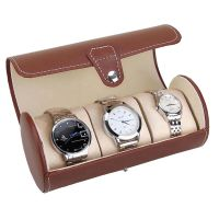 Professional custom high quality travel PU leather watch boxes   travel Watch Boxes thumbnail image
