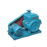 2X two stage rotary vane vacuum pump