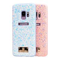 PULOKA Soft TPU Edge PC Leather Phone Cases For iPHONE X 8 8P 7 7P 6 6P 5 Samsung S8 S8P S9 S9P S7 S thumbnail image