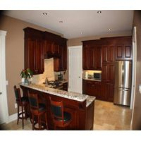 American and Canadian wood kitchen cabinet