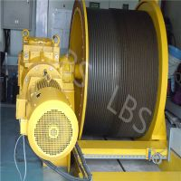 Electric Lifting Winch with Spooling Device