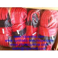 red pink grey green winch rope