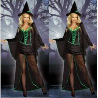 New 2013 Hallowen Masquerada Witch Custom with Hat Plus Size Lights Up 3x 4x thumbnail image
