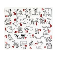 Hot selling baby kids dining table silicone placemats