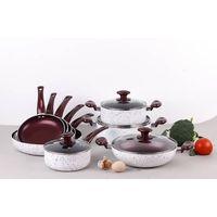 Ceramic coating cooking pan ZH-13PCS-SS02