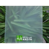 water-based glass frosting powder
