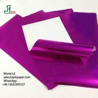 60 GSM Aluminum Foil Laminated Paper Chocolate Chewing Gum Confectionery Use Paper