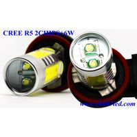 CREE Double R5 chips+6W=16W high power car led fog lights