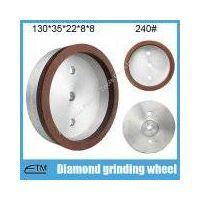 full rim sintering resin bond glass edging wheel for glass straighline edging machine thumbnail image