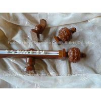 antique curtain poles for resin