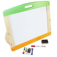 Safety and Eco-Friendly Wooden Portable Double Side Art Easel Manufacturer for Kids and Children thumbnail image