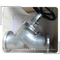 OS&Y CS A216 WCB CL150 Flanged Y Type or Inclined Globe Valve