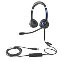 China Beien FC22 USB telephone headset for call center business thumbnail image