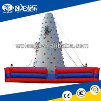 hot children rock climbing wall, inflatable climbing wall