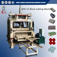 Automatic Hydraulic Concrete Hollow Block Machine