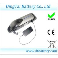 Down tube 48V 11.6Ah Lithium ion 18650 e-bike battery pack with BMS, with USB 5V output