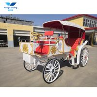 Electric Royal Pumkin horse carriage with factory Price