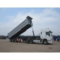 rear tipping semi-trailer,tipper,dumper