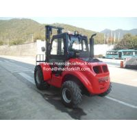 Maximal 4WD high performance-price ratio rough terrain forklift