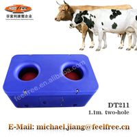 FEELFREE Patented thermo plastic cattle water trough with 2 drinking positions