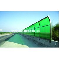 PC sheet for High-way sound insulation screen