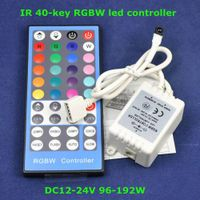 4 Channels LED RGBW Controller with 40keys IR Remote thumbnail image