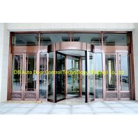2 wing automatic revolving door Manufacturer China