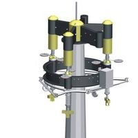 raising and lowering system for high mast light