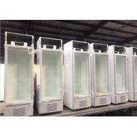 JINZHOU High Quality Vertical Showcase freezer 198L Display Vertical Cooler