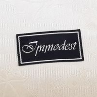Fashion Customized sewing labels Shirt Bags garment label tag Woven Labelsfor clothes thumbnail image