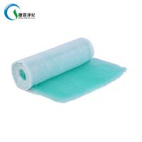 Large dust holding capacity fiberglass g4 air filter media roll air filter thumbnail image