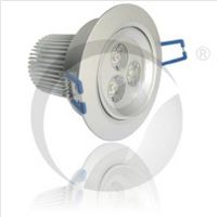 3W LED Indoor Downlight, Dimmable Ceiling Lamp