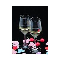 Clear crystal glass red wine goblet cup