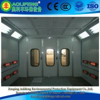 Infrared lamp heating Electric spray booth