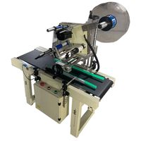 ZJ-200 Production Line Used Automatic Continuous Labeling Machine for Express box