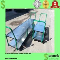 greenhouse harvest trolley