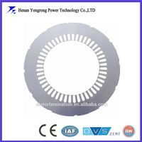 Stator rotor stamping lamination for motor and generator