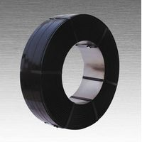 black painted steel strapping mill