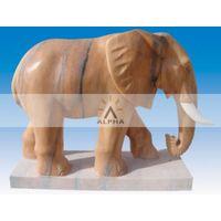 stone animals elephant