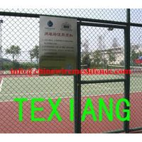 galvanized PVC sport field Chain link fence thumbnail image