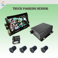 4 Sensors Backup Reversing Sensor Connect with Rearview Camera System for Truck thumbnail image