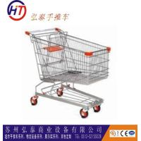 zinc plated metal supermarket shopping trolley cart for sale thumbnail image