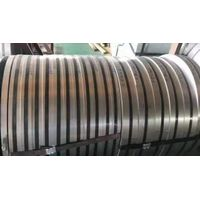 Galvanized steel coil slitting, customized width and materials